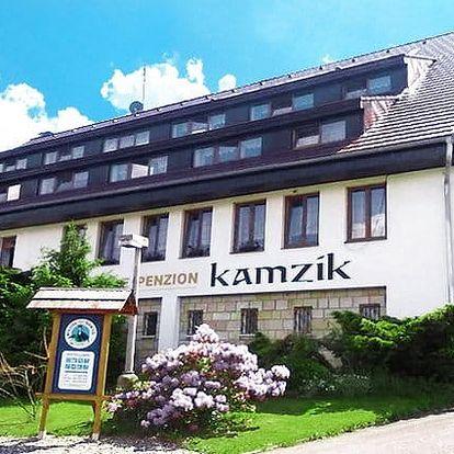 3 nebo 4denní pobyt se saunou a polopenzí pro 2 v penzionu Kamzík v Českém Švýcarsku