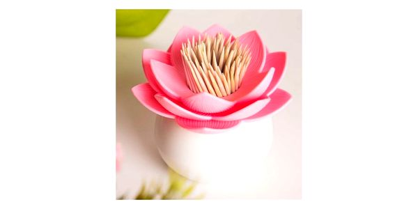Lotosový květ - nádobka na párátka