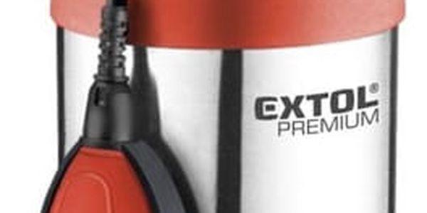 Čerpadlo kalové EXTOL PREMIUM SPF 1000 G4 oranžové2