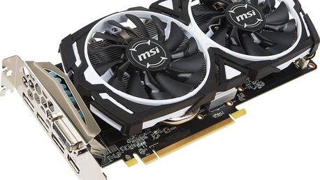MSI Radeon RX 570 ARMOR 4G OC, 4GB GDDR5 + Quake Champions platný do 31.12.2017