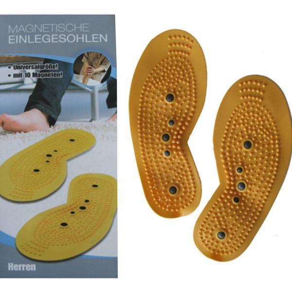 Akupresurní vložky od bot s magnetem, pánská