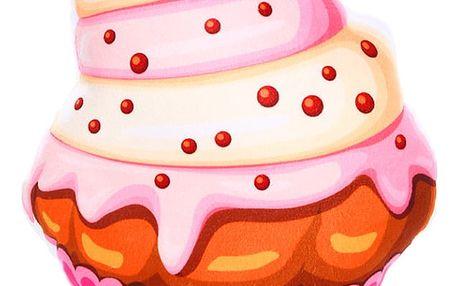 Originální polštář ve tvaru zmrzliny Vzor: Cherry