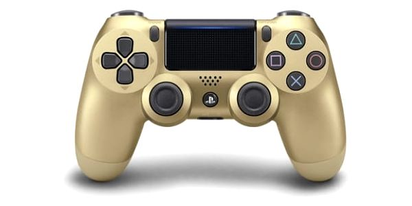 Gamepad Sony Dual Shock 4 pro PS4 v2 (PS719895251) zlatý