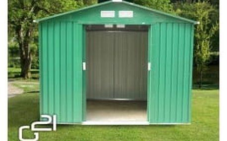 G21 Zahradní domek GAH 429 251 x 171 cm, zelený