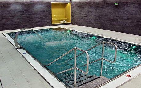 Dovolená v srdci Vysočiny: ubytování v bungalovech s wellness a fitness až pro 5 osob