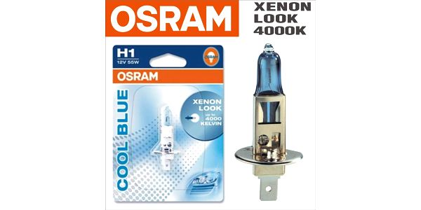Autožárovka Osram 12V H1 55W P14.5s 1ks Cool Blue Xenon Effect 4200K2