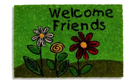 Vopi Vnitřní rohožka RucoPrint welcome friends 147/401, 40 x 60 cm