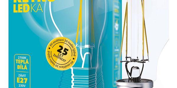 Žárovka LED ETA RETRO LEDka klasik, 8W, E27, teplá bílá (ETA789090008)3