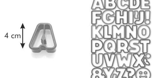 Tescoma Delícia Kids, Vykrajovátka abeceda, 34 ks3