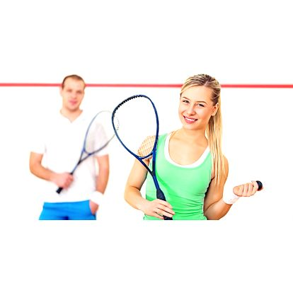 Hodina squashe pro dvě osoby