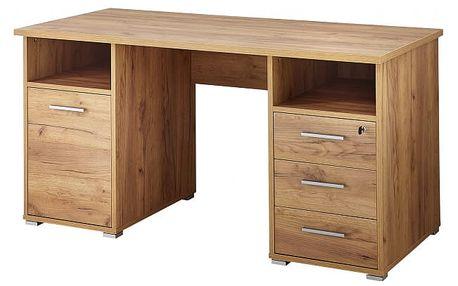 Office - Stůl (dub navarra)