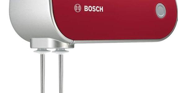 Ruční šlehač Bosch MFQ40303 stříbrný/červený4