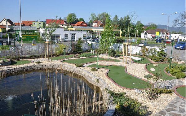 Squash arena & Adventure Golf Liberec