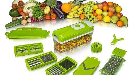 Multifunkční kráječ na ovoce a zeleninu - 10 dílná sada.