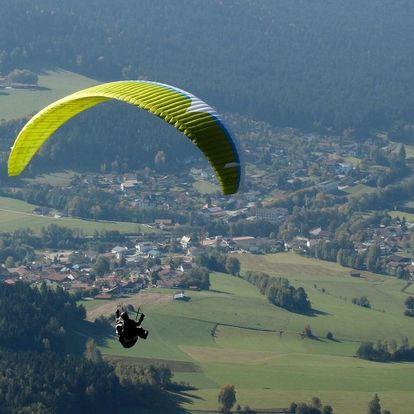Paragliding v Beskydech