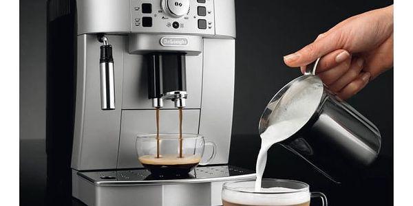Espresso DeLonghi Magnifica ECAM22.110SB černé/stříbrné + dárky Příslušenství DeLonghi Skleničky espresso + Káva zrnková DeLonghi Kimbo Classic 250g v hodnotě 318 Kč2
