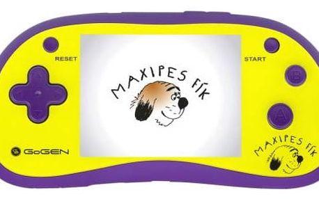 Herní konzole GoGEN Maxipes Fík MAXI HRY 180 P fialová