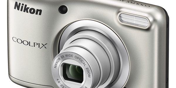 Digitální fotoaparát Nikon Coolpix A10 stříbrný3