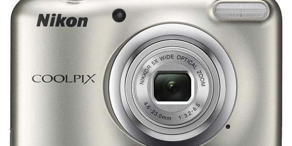 Digitální fotoaparát Nikon Coolpix A10 stříbrný4