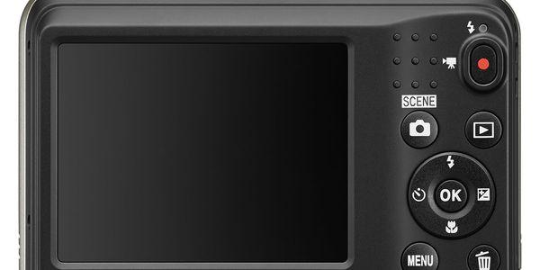 Digitální fotoaparát Nikon Coolpix A10 stříbrný5