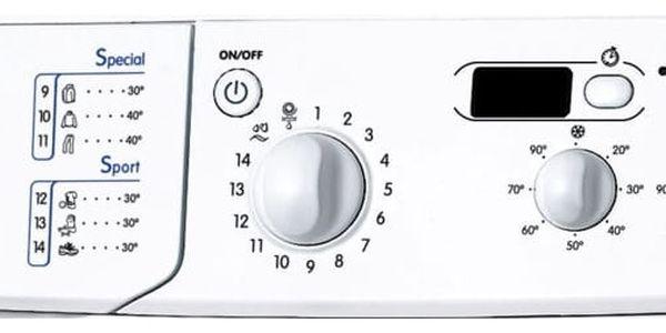 Pračka Indesit Giugiaro IWSD 51051 C ECO EU bílá2