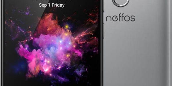 Neffos X1 Lite - 16GB, šedá - TP904A24EU
