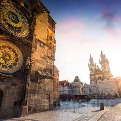 Pobyt v centru Prahy v 3 * hotelu se snídaní pro dva za skvělou cenu