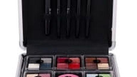 2K Complete Beauty Train Case dárková kazeta pro ženy Complete Makeup Palette