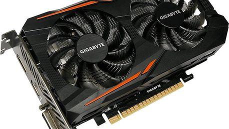 GIGABYTE GeForce GTX 1050 Ti OC 4G, 4GB GDDR5 - GV-N105TOC-4GD