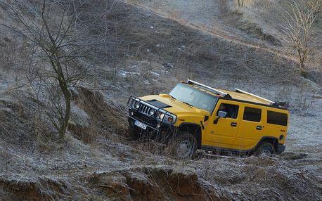 Hummer H2 či Nissan Patrol, až 30min jízda vč. paliva