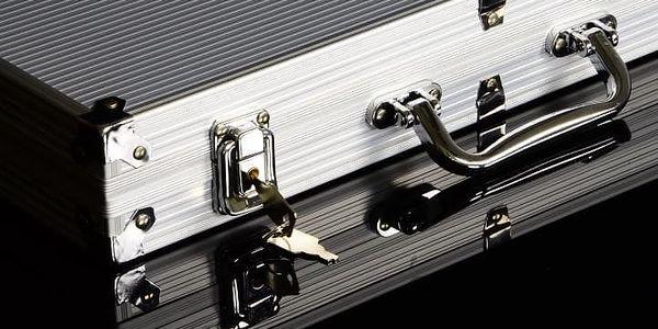Garthen 492 Hliníkový kufr na 300 žetonů s příslušenstvím2