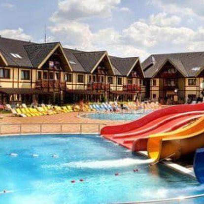 Pobyt v aquaparku Gino Paradise Bešeňová v studiu Hotelu LUKA****