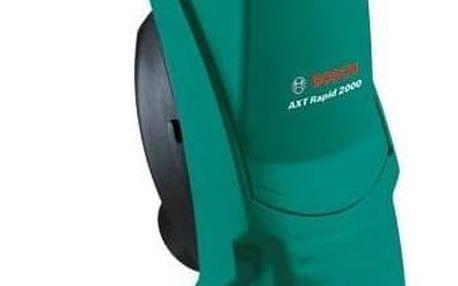 Drtič zahradního odpadu Bosch AXT Rapid 2000 zelený + Doprava zdarma