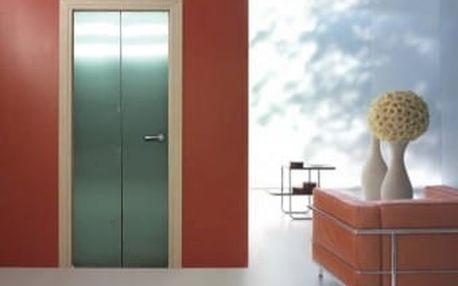 Živá dekorace na Dveře - od výtahu