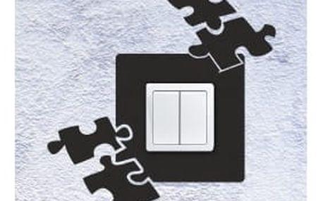 Smolepka na zeď Samolepka na vypínač - puzzle