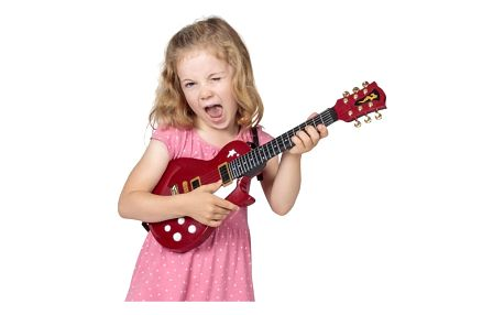 Elektrická kytara Les Paul pro děti