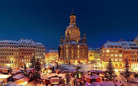 Adventní Drážďany, Německo – zájezd na vánoční trhy a prohlídku města