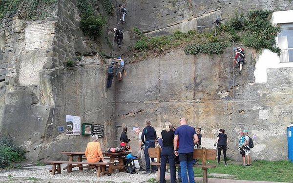 Via Ferrata Děčín - Pastýřská stěna