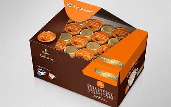 Tchibo Cafissimo Caffé Crema rich aroma BOX 96 kapslí
