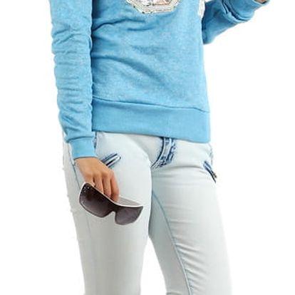 Dámská mikina/tričko s potiskem modrá
