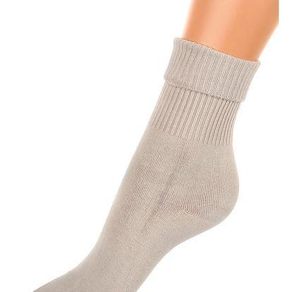 Dámské vysoké ponožky béžová