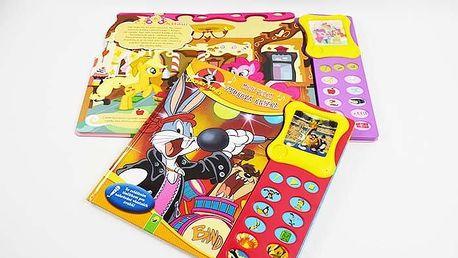 Velká zvuková kniha My Little Pony nebo Looney Tunes pro děti od 4 až 5 let