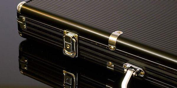 Garthen 503 Hliníkový kufr na 500 ks žetonů s příslušenstvím2