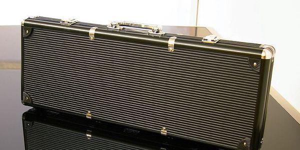 Garthen 503 Hliníkový kufr na 500 ks žetonů s příslušenstvím3