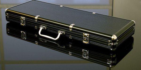 Garthen 503 Hliníkový kufr na 500 ks žetonů s příslušenstvím4
