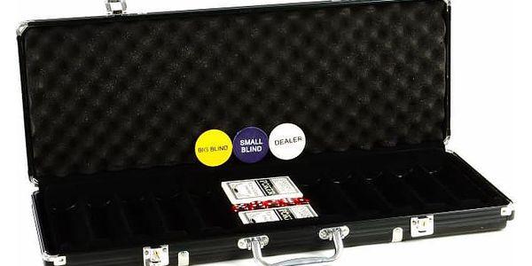 Garthen 503 Hliníkový kufr na 500 ks žetonů s příslušenstvím5