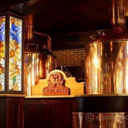 Víkend s vařením piva v Plzni