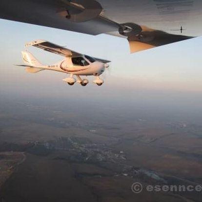 Pilotem na zkoušku malého letadla Praha