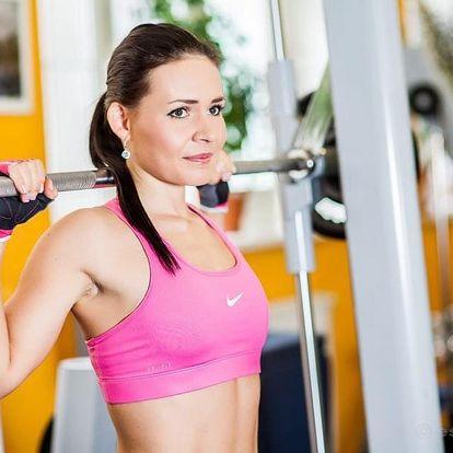 Permanentka do fitness + lekce + vířivka zdarma