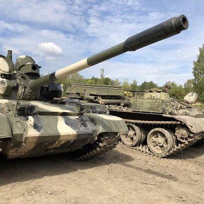 Řízení bojového tanku T55